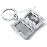 Buy cheap Metal baby photo locket keychains, custom baby picture locket pendant key rings wholesale, from wholesalers