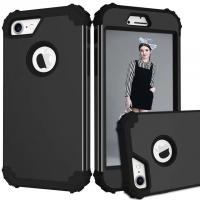 Buy cheap Wholesale 3 in 1 Shockproof PC Silicone TPU Robot Armor Mobile Phone Case For iPhone 8 Plus Back Cover from wholesalers