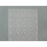 Buy cheap 25.4mm Clear epoxy stickers product