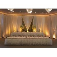 Buy cheap 2018 hot sell Telescopic Pipe And Drape Kit With Base Plates Wedding Trade Show Display Backdrop Decor from wholesalers