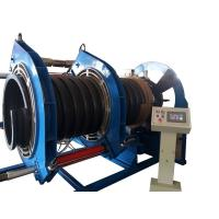 Buy cheap 600MM Butt Fusion Welding Corrugated Pipe Welding Machine For Spiral Texture PE Pipe from wholesalers