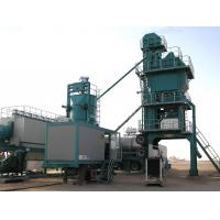 High Pressure Atomizing Burner Mobile Asphalt Plant With 25t / H WAM Screw Conveyor