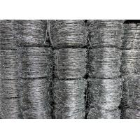 Buy cheap Galvanized Security Barbed Wire Iowa Type Traditional Not Razor Type from wholesalers