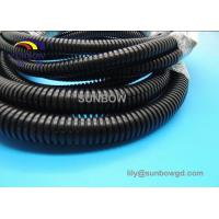 Buy cheap RoHS Plastic Split Flexible Corrugated Pipes Electrical Conduit from wholesalers