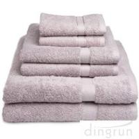 Buy cheap Dry Fast Absorbent Bath Towels Set For Home / Hotel No Fading , No Pilling from wholesalers