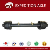 Buy cheap 13T round tube American type semi-trailer rear axle from wholesalers