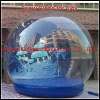 Buy cheap Attractive inflatable transparent snow ball,inflatable christmas snow globe,party human size snow globe from wholesalers