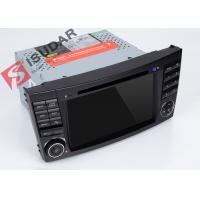 Buy cheap Mirrorlink Mercedes Benz Clk W209 Dvd Gps Player , Android Based Car Stereo With USB from wholesalers