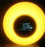 Buy cheap USB Charging Natural Wake Up Alarm Clock , Sun Lamp Alarm Clock Powered By DC 5V from wholesalers