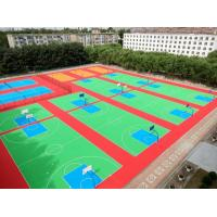 Buy cheap Super Flexible Non Skid Modular Floor Covering Patented Low Maintenance Cost from wholesalers