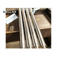 Buy cheap Chrome Plated Carbon Steel Hydraulic Piston Rod Cylinder Parts from wholesalers