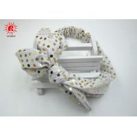 Buy cheap Sequin Fabric Elastic Tie Daisy Hair Band Wrap Hair Accessories For Girls product
