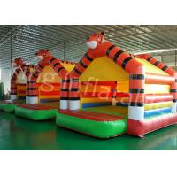 Buy cheap 0.45mm PVC Tarpaulin Kids Inflatable Jumping Castle For Outdoor Entertainment from Wholesalers