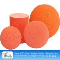 Buy cheap Eco-friendly durable concrete medium soft rubber ball 5inch from wholesalers