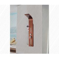 Buy cheap wood color painted sus304 stainless steel bathroom shower panel from wholesalers