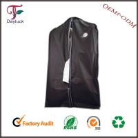 Buy cheap PVC in black color High quality mens garment bags/suit cover from wholesalers