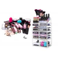 Buy cheap 12 Drawers Acrylic Jewelry & Cosmetic Storage Display Boxes Multi Function from wholesalers