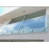 Buy cheap Satin wall mounted standoff pin standoff for exterior glass balcony grill design from wholesalers