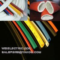 Buy cheap Heat Shrinkable tubing acrylic sleeving varnished sleeving,Heat Shrink TUBES,Silicone Glass Sleeving, from wholesalers