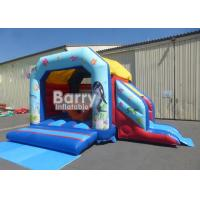 Buy cheap Beautiful Ocean Fish Inflatable Combo , Commercial Slide Inflatable Bounce House Castle For Sale from wholesalers