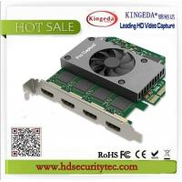 Buy cheap 1080P 60fps Linux HD Video Audio Capture Card for HD Camera To Windows /Linux from wholesalers