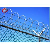 Buy cheap High Security Galvanized Concertina Razor Barbed Wire With Razor Sharp Steel Blade from wholesalers
