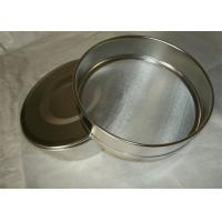 Buy cheap Plain Weave  30cm 304 Stainless Steel Test Sieves , 45 Micron Sieve from wholesalers
