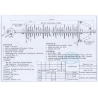 132KV,160kN Long Rod Insulator With Polymer Grey Sheds, Use In Transmission Line