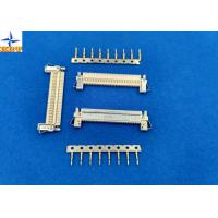 Buy cheap 30Pin Laptop / Inventor FFC / FPC Connector, 1.00mm Pitch Flat Cable Connector from wholesalers