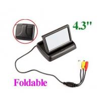 """Buy cheap 4.3"""" Foldable TFT Color LCD Car Reverse Rearview car monitor product"""