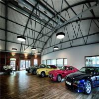 Buy cheap Heya Int'l Car Showroom Modern Design  Steel Structure  Prefab Workshop Made In China from wholesalers