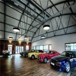 Buy cheap Modern Design Steel Structure Prefabricated Workshop Heya Int'L Car Showroom from wholesalers