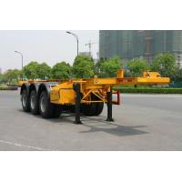 Buy cheap 20ft Skeletal Or Flatbed Container Trailer Chassis In Truck Semi Trailer from wholesalers