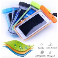 Buy cheap Clear Pouch PVC Waterproof Phone Bag Cell Phone Case For Iphone from wholesalers