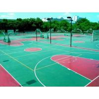 Buy cheap Green Acrylic Sport Court Flooring Outdoor Basketball Court Surfaces from wholesalers