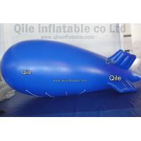 Buy cheap 0.2m PVC Helium Airship Inflatable Advertising Balloons With 6m Long from wholesalers