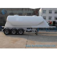 Buy cheap 38000 L Conoid Dry Bulk Three Axle Trailers UWA / BPW Air Suspension from wholesalers