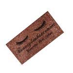 Buy cheap custom faux eyelash gift box Luxury 3D glitter lash box  mink blink lash box from wholesalers