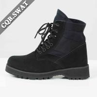 Buy cheap Removeable Cushion Swat Boot Manufacture Boot Motorcycle Cheap Suede Boots from wholesalers