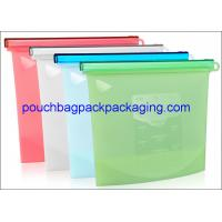 Buy cheap Reusable silicon bag, Vacuum Freezer pouch, Fresh Fridge Food Preservation Silicone Bag for food storage from wholesalers