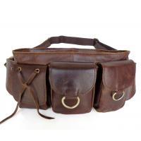 Buy cheap Women Style Vintage Leather Popular Design Fanny Waist Pack Purse #3014C from wholesalers