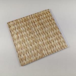 Buy cheap Bamboo Style Laminating PVC Wall Panels , PVC bathroom wall cladding Decoration product