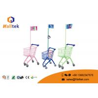 Buy cheap New Style Plastic Supermarket Shopping Trolley Kids Ride With Toy from wholesalers