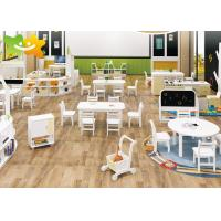 Buy cheap Economical Wooden Preschool Furniture Easy Cleaning Low Maintain Strudy Structure from wholesalers
