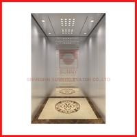Buy cheap 1.0 - 1.75m/s High Speed Elevator Machine Roomless Electric Passenger Lift from wholesalers