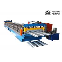 Buy cheap Automatic Steel Profile Roll Forming Machine , Easy Operate Metal Roof Panel Machine from wholesalers