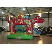 Buy cheap Cute classic inflatable dinosaur combo / small dino inflatable combo for kids inflatable dinosaur jumping combo for baby from wholesalers