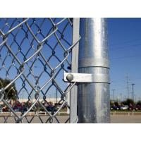 Buy cheap Construction Chain Link Fence, Chain Link Fence Top Barbed Wire from wholesalers