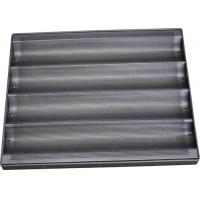 Buy cheap Teflon Coated Bread Baking Tray , Stainless Steel Baguette / Hot Dog / Muffin Trays from wholesalers