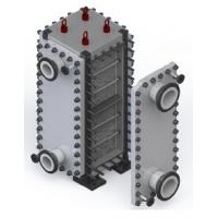 Buy cheap S S Block Fully Welded Plate Heat Exchanger Customised Design from wholesalers